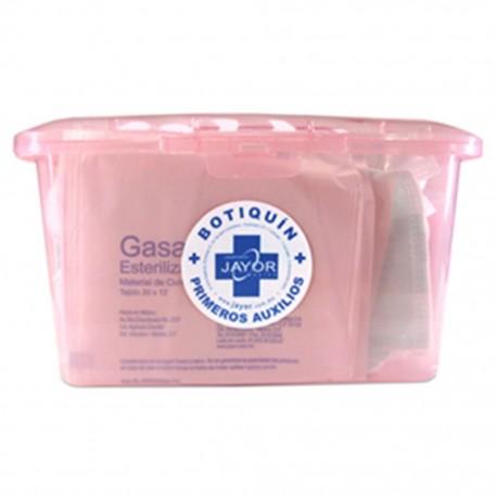 Botiquín de Primeros Auxilios Jayor en Maletín de Plástico con 29 Piezas - Envío Gratuito