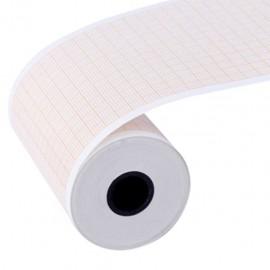 Papel para Electrocardiografo de 3 Canales Carewell en Rollo de 6.3 cm