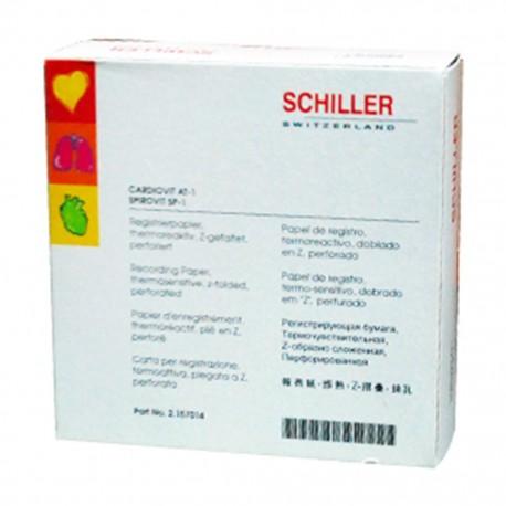 Papel Graficado para ECG Schiller en Z (hojas) - Envío Gratuito
