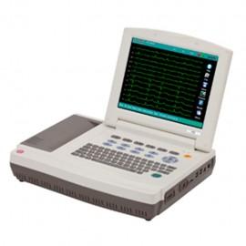 Electrocardiógrafo Carewell de12 Canales con Interpretación y Pantalla Despegable