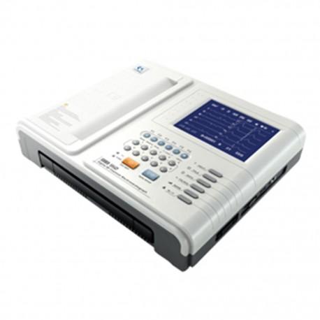 Electrocardiógrafo de 12 Canales Carewell con Pletismográfica y Teclado - Envío Gratuito