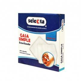 GASA ESTERIL SELECTA 7.5X5 CJ C/100 SOBRES TJ 20X12 8 CAPAS - Envío Gratuito