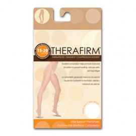 PANTIMEDIA THERAFIRM MEDIANA COMPRESION (15-20 mmHg) TALLA CHICA COLOR BLANCO