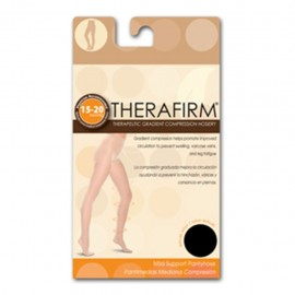 PANTIMEDIA THERAFIRM MEDIANA COMPRESION (15-20 mmHg) TALLA CHICA COLOR NEGRO