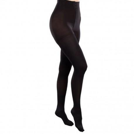 Pantimedia Therafirm Mediana Compresión (15-20 mmHg) Modelo Sheer Color Negro Talla Mediana - Envío Gratuito