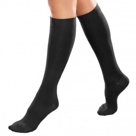 Tobimedia Therafirm Alta Compresión (20-30 mmHg) Modelo Sheer Color Negro Talla Chica - Envío Gratuito