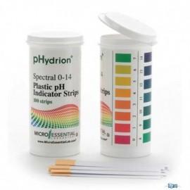 PAPEL PH 0 A 14 HYDRION EN VIAL - MICROESSENTIAL - Envío Gratuito