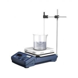 Agitador magnético con placa de calentamiento cuadrada con pantalla digital LCD. Modelo H550-PRO - Envío Gratuito