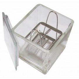 Caja Coplin de vidrio. Modelo CRM-2033 - Envío Gratuito