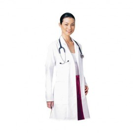 Bata blanca de algodón para cirujano. Modelo FN07010 - Envío Gratuito