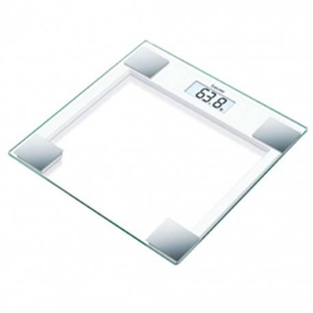 Báscula Digital Beurer con Pantalla LCD Superficie de Cristal Capacidad 150 Kg - Envío Gratuito