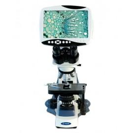 Microscopio biológico con pantalla LCD. Modelo VE-653 - Envío Gratuito
