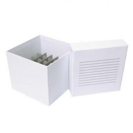 Caja de cartón criogénica para tubos de centrífuga - Envío Gratuito