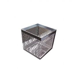 Cesto de metal galvanizado - Envío Gratuito