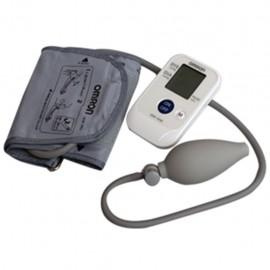 Baumanómetro Digital Omron Semi Automático para Brazo con 21 Memorias - Envío Gratuito