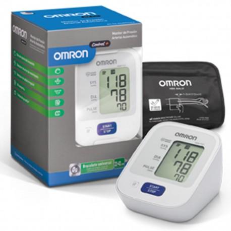 Baumanómetro Digital de Brazo Omron con Sensor de Posición, Brazalete de 3 posiciones y 30 Memorias - Envío Gratuito