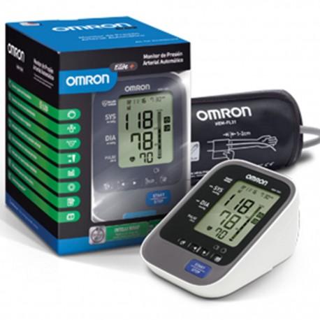 Baumanómetro Digital de Brazo Omron con Sensor de Posición, Brazalete de 3 Posiciones y 100 Memorias - Envío Gratuito