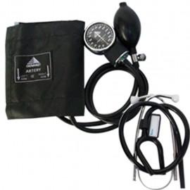 Baumanómetro Aneroide Genmed Kit con Estetoscopio de Una Campana - Envío Gratuito