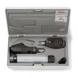 Estuche de Diagnóstico Heine Oftalmoscopio y Retinoscopio de Franja Beta 200. Mango Recargable 3.5V - Envío Gratuito