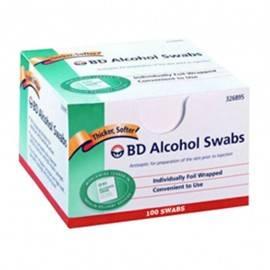ALCOHOL SWABS CAJA C/100 - Envío Gratuito