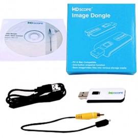 SOFTWARE MDSCOPE PARA VIDEO OTOSCOPIO COMPATIBLE CON MAC/PC INCLUYE USB, CD DE INSTALACION Y CABLES - Envío Gratuito