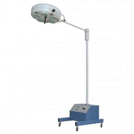 Lámpara de Quirófano PAX con 5 Focos en Pedestal y Batería de Emergencia - Envío Gratuito
