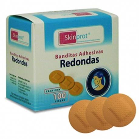 BANDITAS ADHESIVAS REDONDAS SKIN-PROT - Envío Gratuito