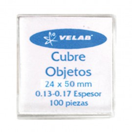 CUBRE OBJETOS 24X50 MM C/100 PZAS